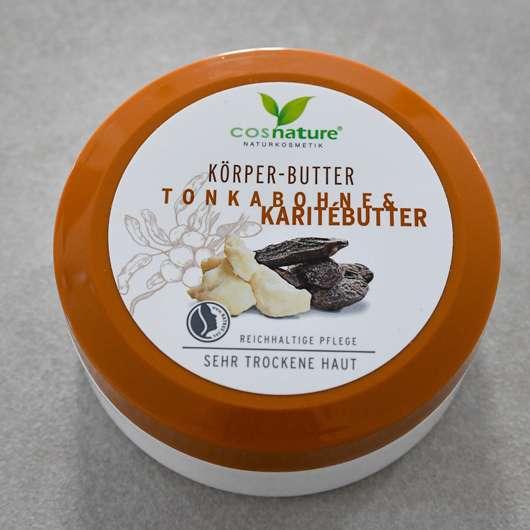 <strong>cosnature</strong> Körper-Butter Tonkabohne & Karitébutter