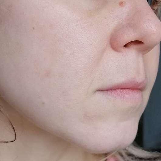 Dr. Scheller Argan & Amaranth Anti-Falten AHA Nachtserum - Haut nach 4-wöchigem Test