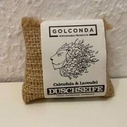 Produktbild zu Golconda Duschseife Calendula & Lavendel