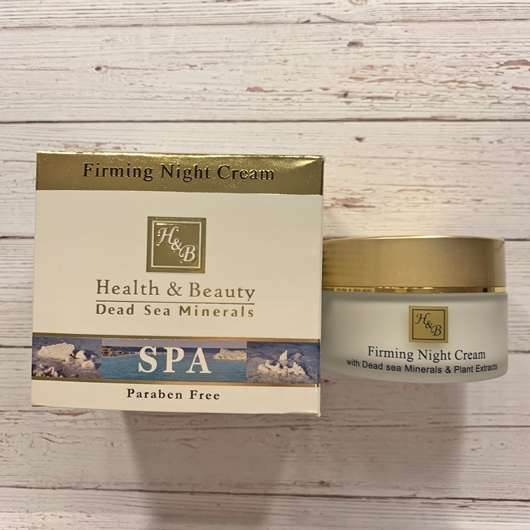 <strong>Health & Beauty</strong> Firming Night Cream