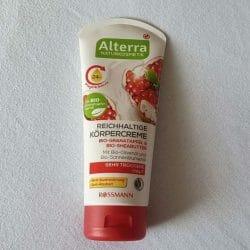 Alterra Naturkosmetik Reichhaltige Körpercreme Bio-Granatapfel & Bio-Sheabutter