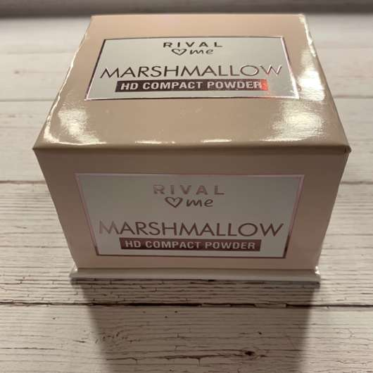 RIVAL loves me Marshmallow HD Compact Powder