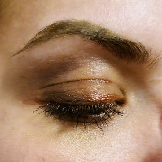 Sleek Makeup i-Divine Eyeshadow Palette, Farbe: Making Waves - nach vier Stunden Tragezeit
