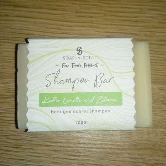 Soap-n-Scent Shampoo Bar Kaffee Limette & Zitrone
