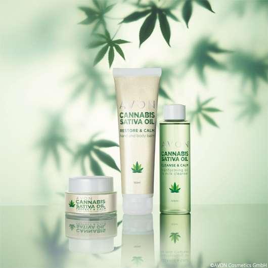 Avon Cannabis Sativa Oil: Schöne Haut mit Hanföl