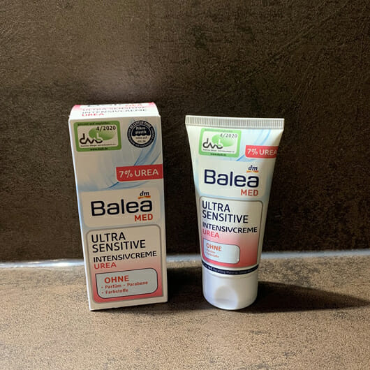 Balea Med Ultra Sensitive Intensivcreme Urea