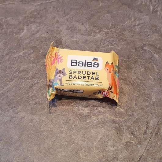 Balea Sprudel-Badetab mit Passionsfrucht-Duft