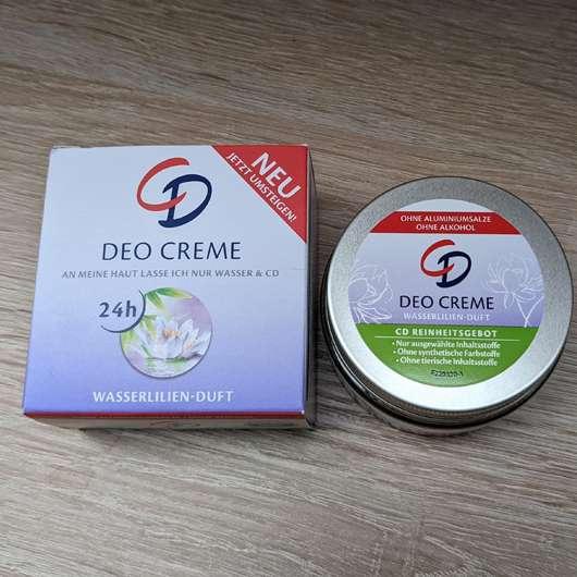 CD Deo Creme Wasserlilien Duft