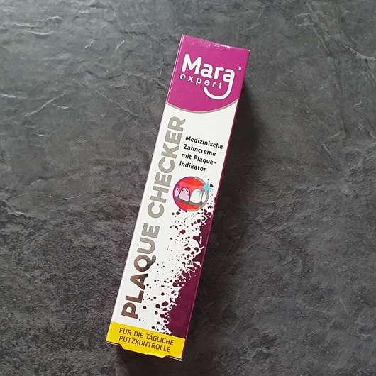 Mara expert Plaque Checker Zahncreme
