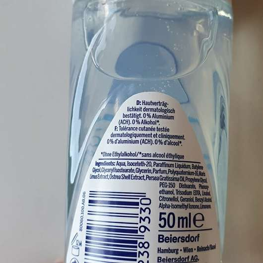 NIVEA fresh natural 48h Deodorant Roll-On