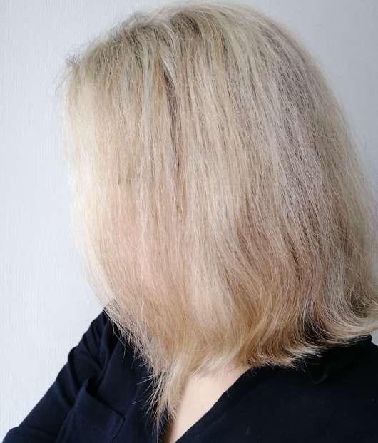 Ovis Festes Shampoo Morgentau - Haare nach 4-wöchigem Test