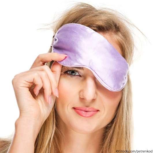 Wärmende Augenmaske
