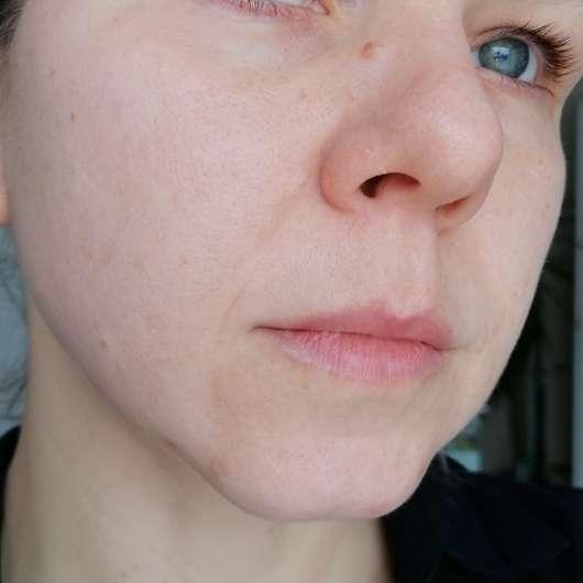 Weleda Feigenkaktus Erfrischendes Feuchtigkeitsspray - Haut nach 4-wöchigem Test