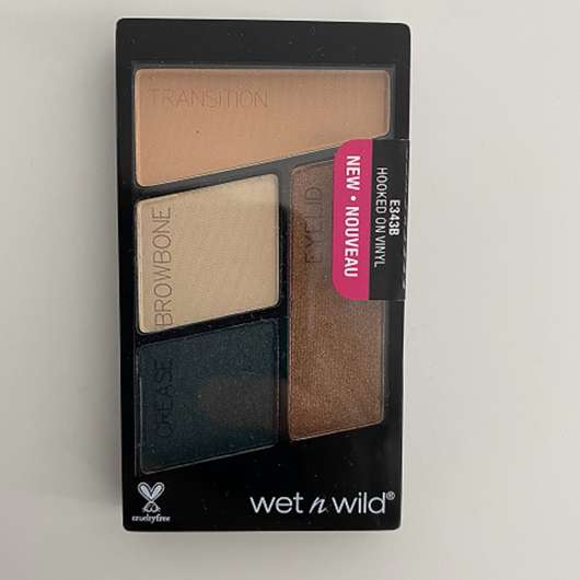 wet n wild Color Icon Eyeshadow Quad, Farbe: Hooked On Vinyl