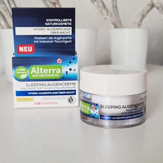 Alterra Naturkosmetik Sleeping Augencreme