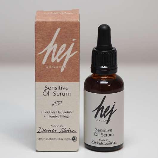 <strong>HEJ ORGANIC</strong> Sensitive Öl Serum