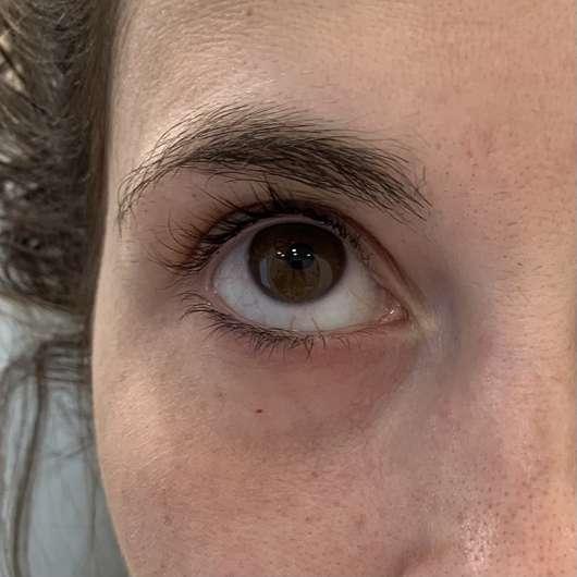 ISANA Hydrogel Eye-Pads Glow & Shine - vor der Anwendung