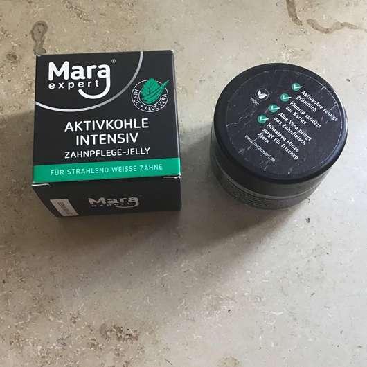 MARA EXPERT Aktivkohle Intensiv Zahnpflege-Jelly