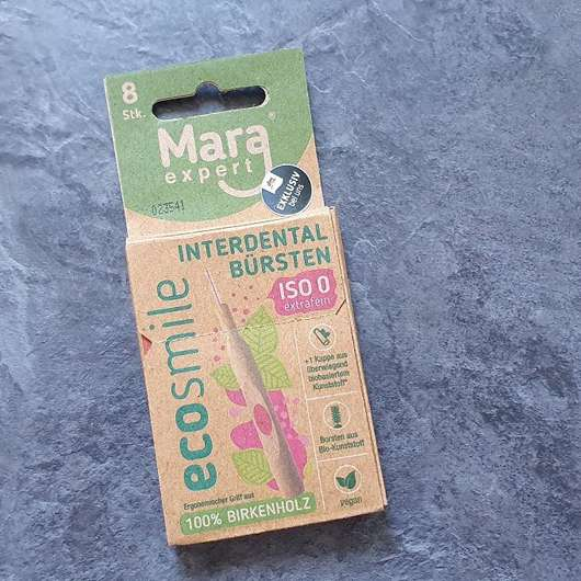 Mara Expert ECOSMILE Holz Interdentalbürsten (ISO 0, extrafein), Farbe: Pink