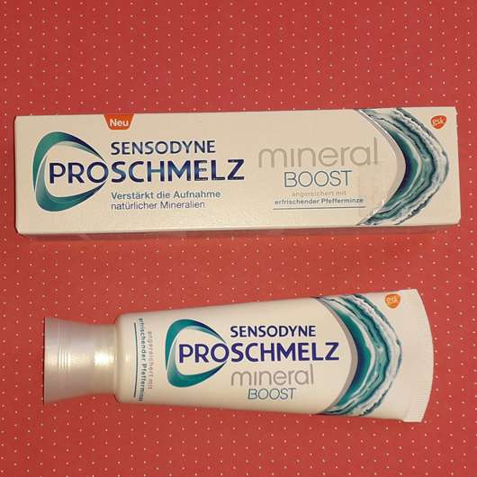 Sensodyne ProSchmelz Mineral Boost Zahncreme