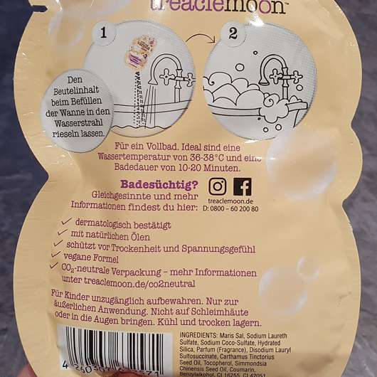 treaclemoon your vanilla time Badeschaum