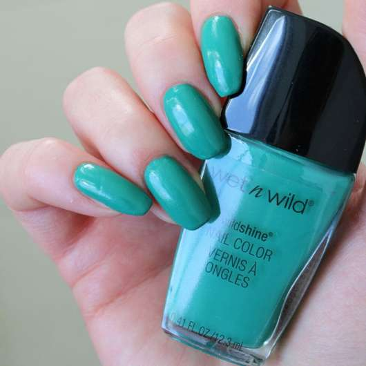 wet n wild Wild Shine Nail Color, Farbe: Be More Pacific
