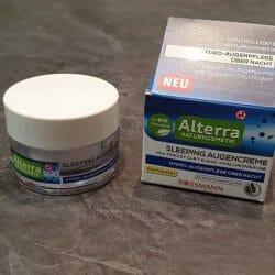 Produktbild zu Alterra Naturkosmetik Sleeping Augencreme