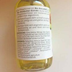 alverde Repair Haaröl Bio-Avocado Bio-Sheabutter