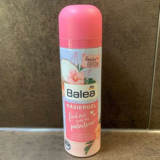 Balea Rasiergel find me under the palmtrees (LE)