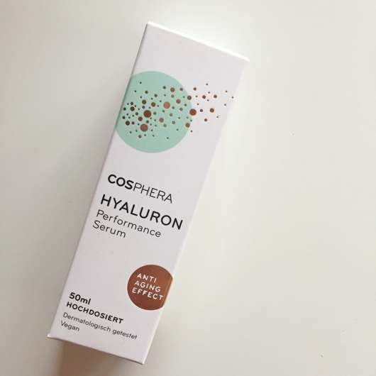 <strong>COSPHERA</strong> Hyaluron Performance Serum