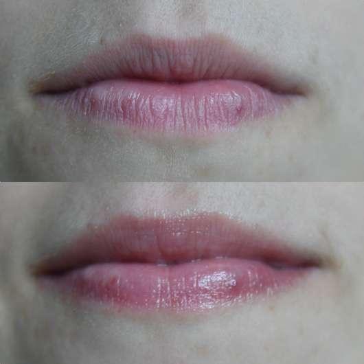 Lippen ohne/mit Dr. PawPaw Original Balm