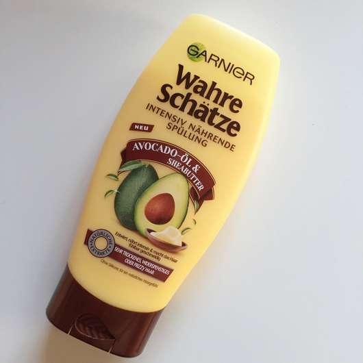 Garnier Wahre Schätze Intensiv Nährende Spülung Avocado-Öl & Sheabutter