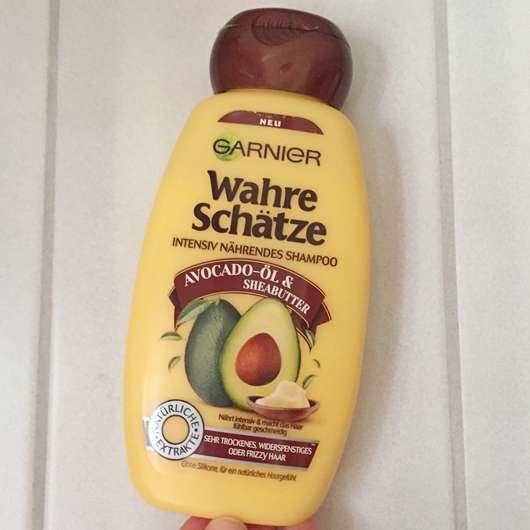 Garnier Wahre Schätze Intensiv Nährendes Shampoo Avocado-Öl & Sheabutter