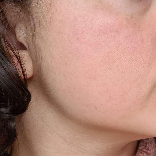 Haut nach 4-wöchigem Test - ISANA Aktiv Serum Hyaluron Triple