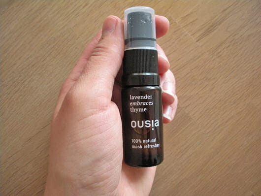 """ousia essence Mask Refresher """"Lavender embraces Thyme"""""""