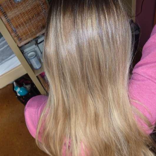 Haare vor dem Test - Puffin Beauty Silky Spray Conditioner