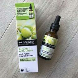Produktbild zu DR. SCHELLER Argan & Amaranth Anti-Falten Intensiv-Serum