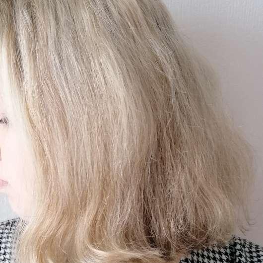 Haare zu Testbeginn - Selfie Project Be Strong Purple Shampoo