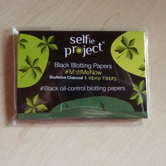 Selfie Project Cannabis Black Blotting Papers