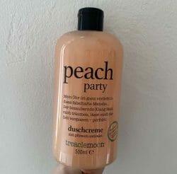 Produktbild zu treaclemoon peach party duschcreme (LE)
