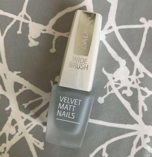 IsaDora Velvet Matt Nails, Farbe: 202 Sage Grey