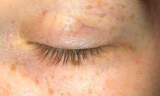ISANA Eye Lash Wimpern-/Augenbrauen-Serum - Wimpern zu Testbeginn
