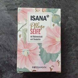 Produktbild zu ISANA Pflegeseife mit Malvenextrakt und Sheabutter
