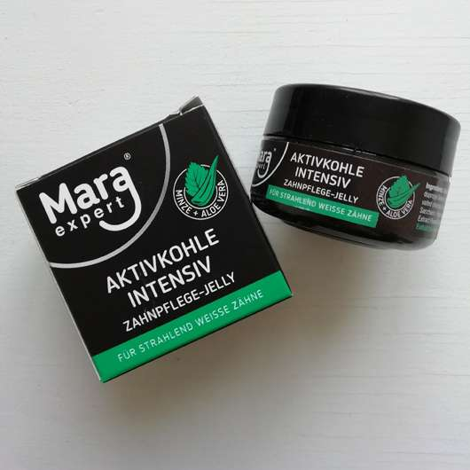 <strong>MARA EXPERT</strong> Aktivkohle Intensiv Zahnpflege-Jelly