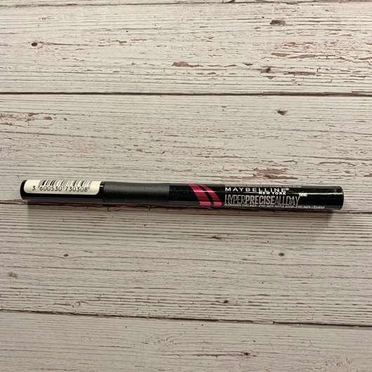 Maybelline New York Hyper Precise Liquid Eyeliner, Farbe: Black