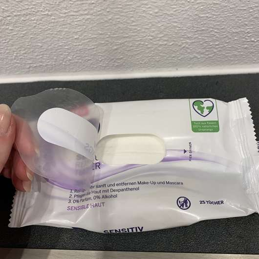 NIVEA Sensitiv Reinigungstücher