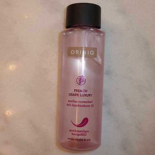 ORINIQ French Grape Luxury sanftes Cremebad