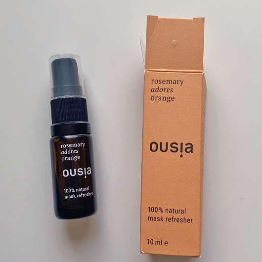 "ousia essence Mask Refresher ""Rosemary adores Orange"""