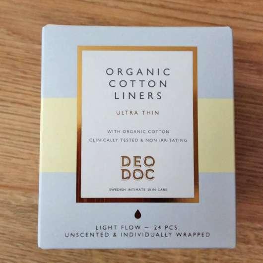 DeoDoc 100% Organic Cotton Liners