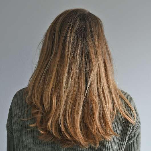 Alterra Nutri Care-Shampoo Bio-Arganöl - Haare zu Testbeginn